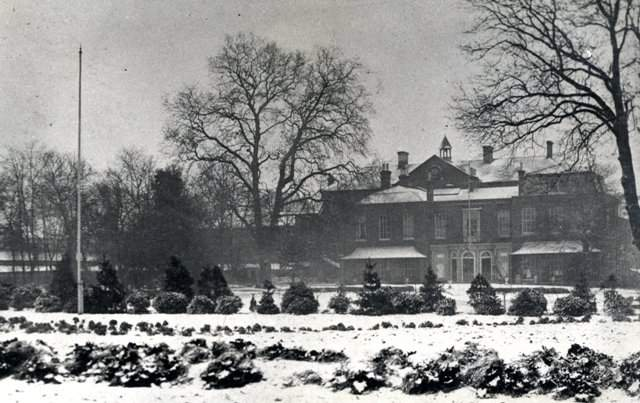 Millfield House in the 1950's